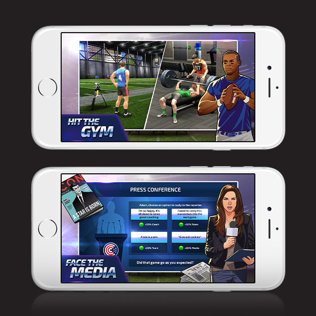 All Star Quarterback 17 – Football Lifestyle Sim