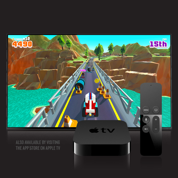 Blocky Racer – Endless Arcade Racing