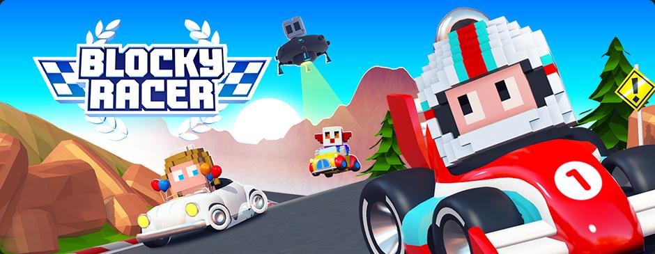 Blocky Racer – Endless Arcade Racing