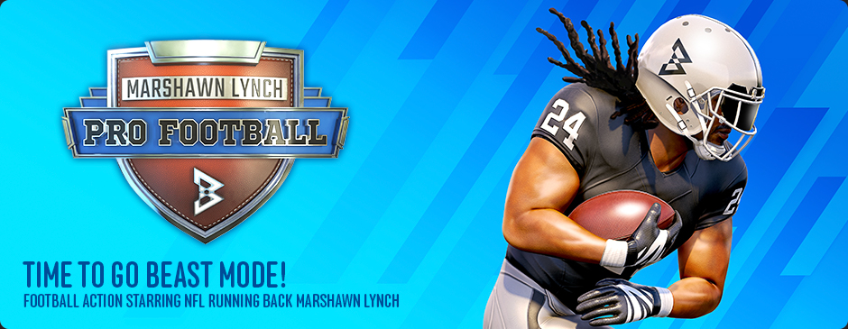 Marshawn Lynch Pro Football